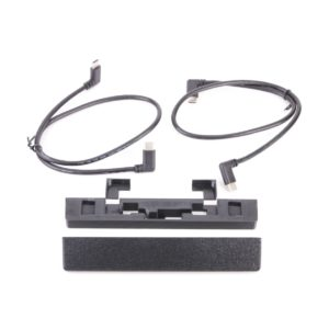 kit with cables and lightning connector shims