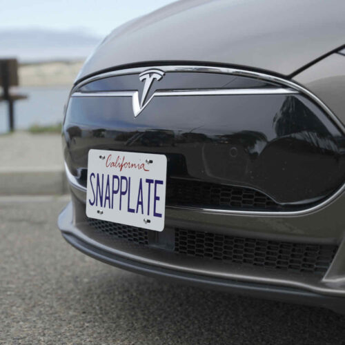SnapPlate for Early Model S Owners (2012-April 2016)